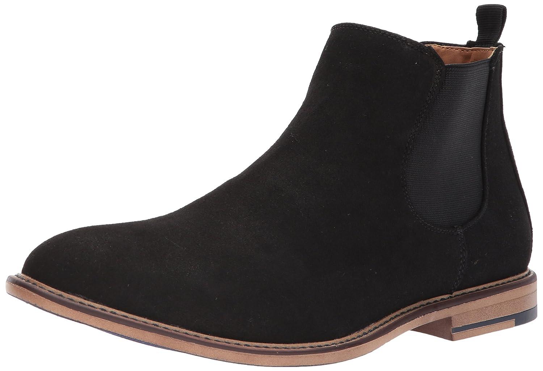 Madden Men's M-Graye Chelsea Boot B073JSRCZ6 9 B(M) US|Black Suede