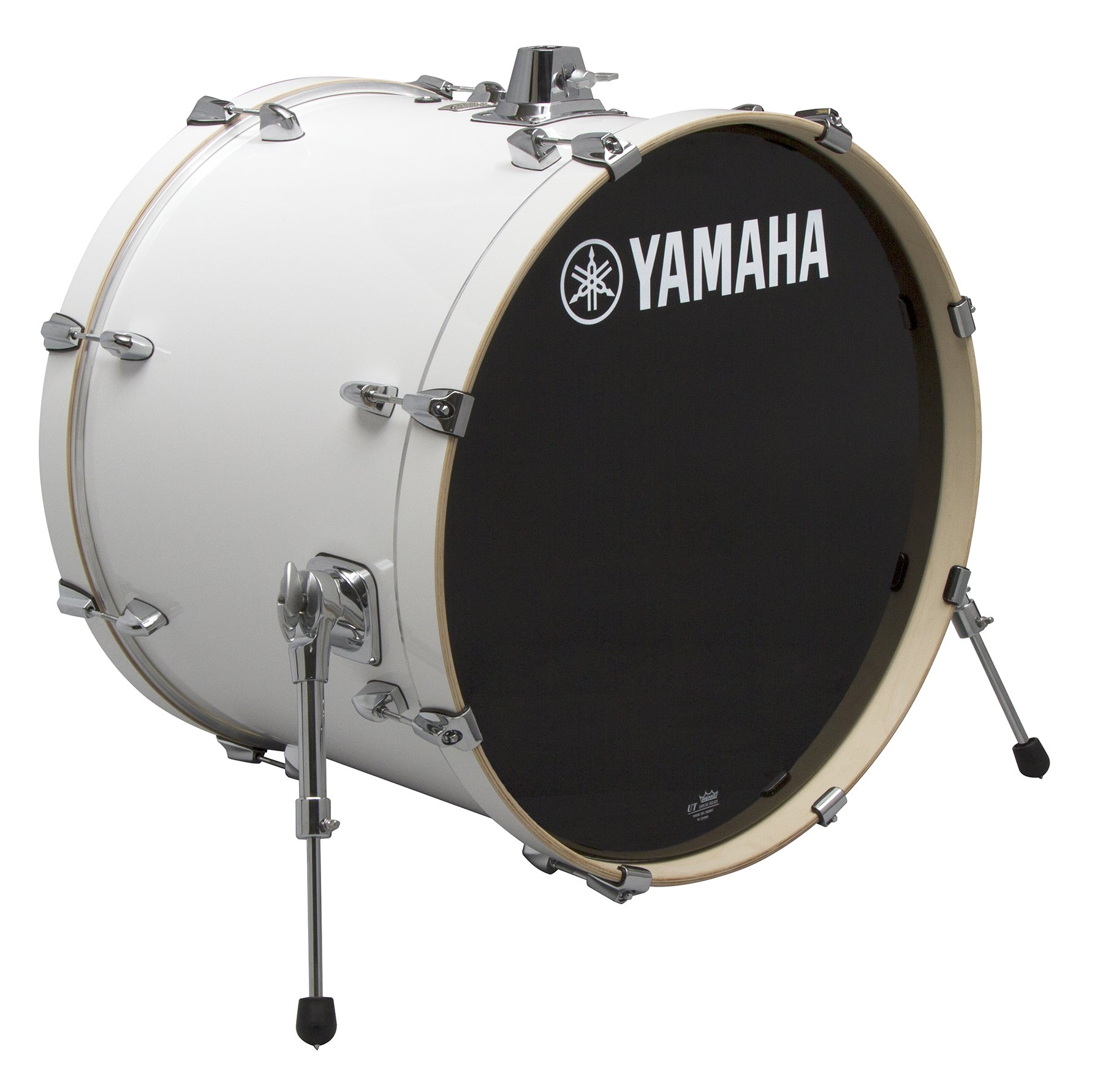 Yamaha Stage Custom Birch 18x15 Bass Drum, Pure White