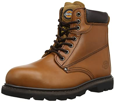 Dickies Cleveland Safety Boot Chestnut 6 OpQVdn3