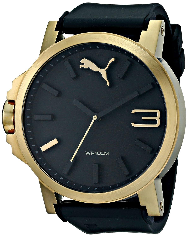 Amazon.com: PUMA Mens PU102941002 Ultrasize Blue Analog Watch: Puma: Watches