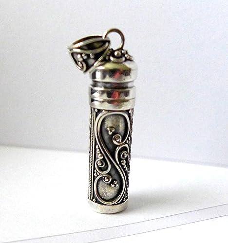 Amazoncom sterling silver wish box prayer box keep sake pendant
