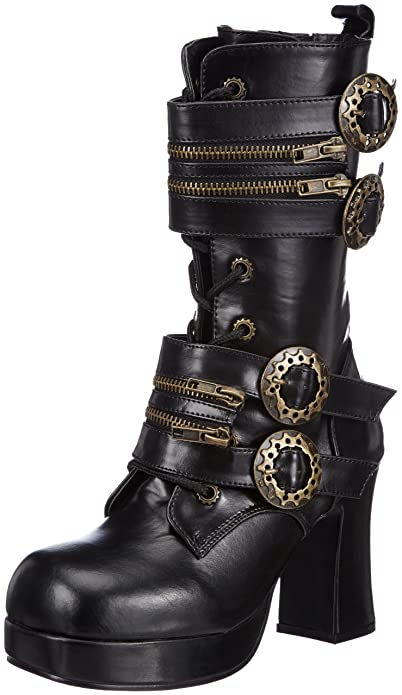 Steampunk Boots & Shoes Pleaser Womens Gothika-100 Boot $89.95 AT vintagedancer.com