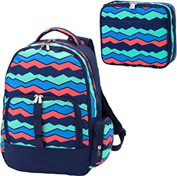 Boys Blue Preschool Toddler Childrens Backpack /& Lunch Box Set Dragon on a Mountain