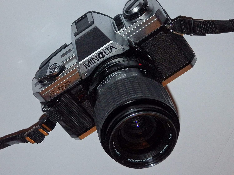 Minolta X de 300 SLR Camera – Cámara réflex analógica – Incluye ...