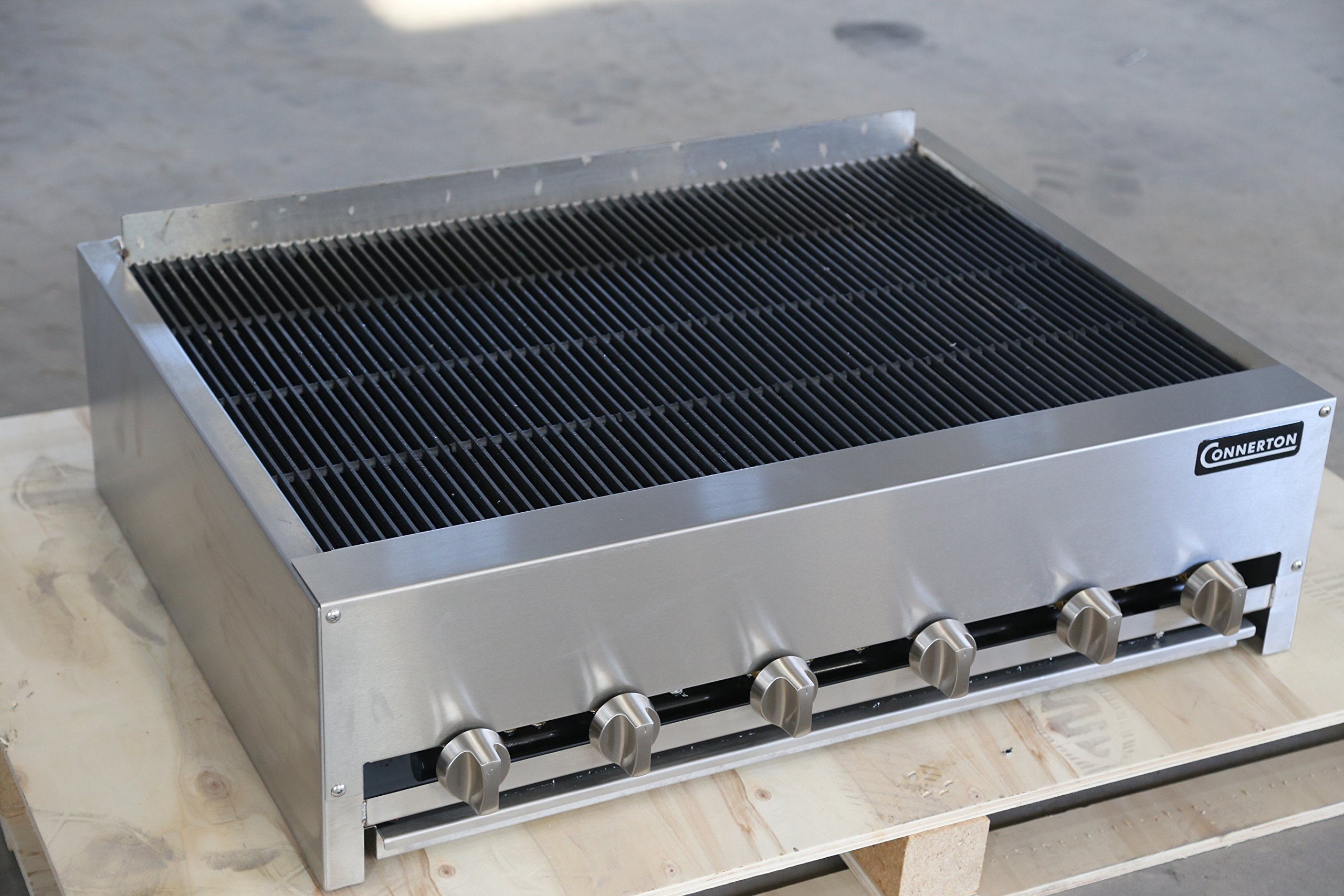 Connerton CRB-36 36'' Gas Charbroiler by Connerton