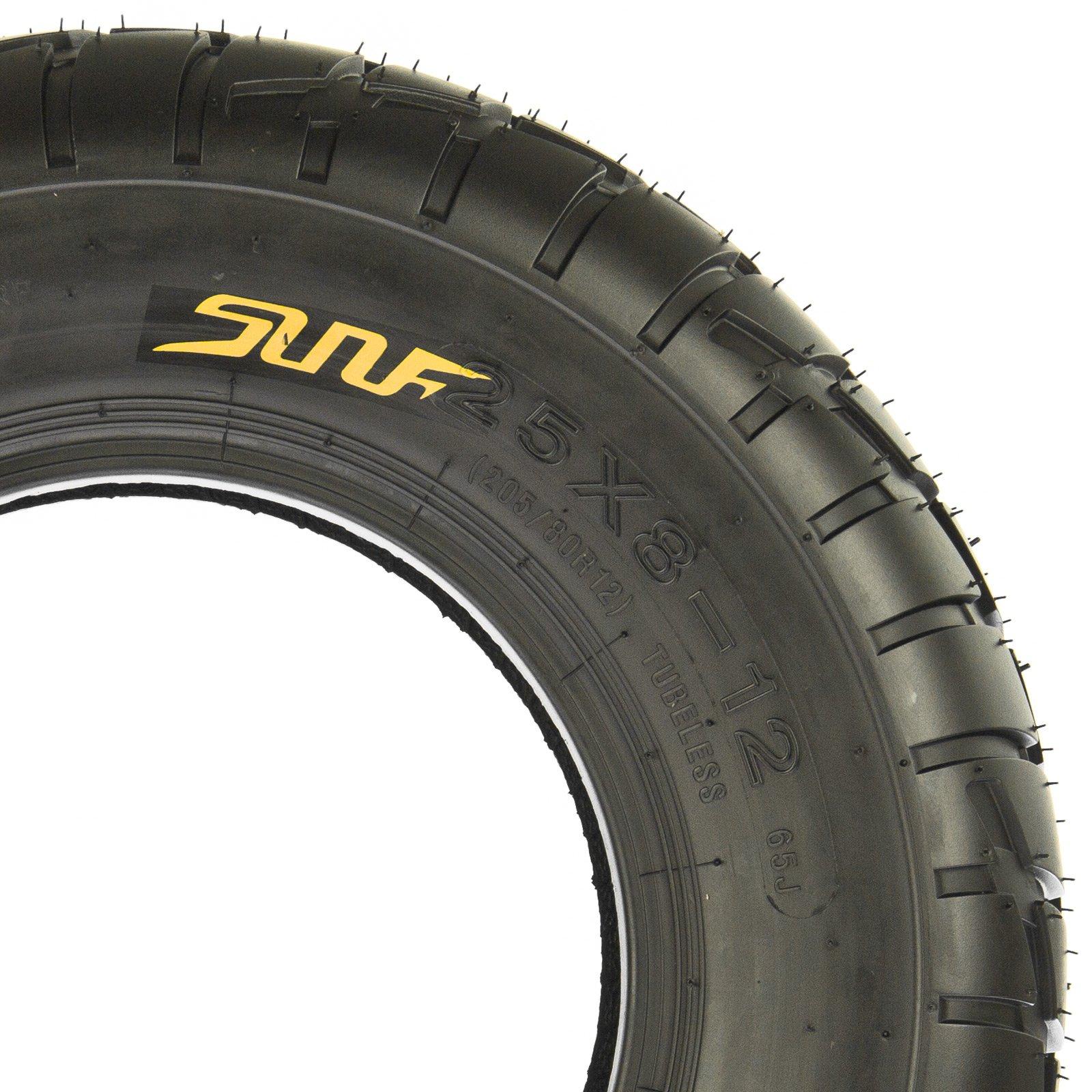 SunF Quad ATV Road Race Tires 225/45-10 225 45 10 4 PR A021 (Full set of 4) by SunF (Image #4)