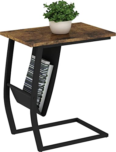 Best rustic end table: Side and End Table,Sofa Side Table