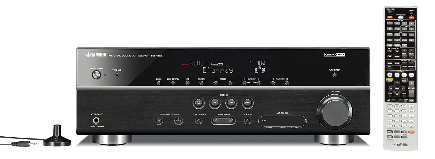 Yamaha Rx V667 72 Channel Home Theater Receiver Old 7 1 Wiring Diagram Version Discontinued By Manufacturer Audio