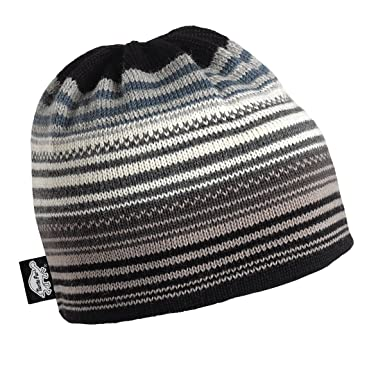 Amazon.com : Turtle Fur Aslan 100% Wool Knit Classic Striped Ski ...