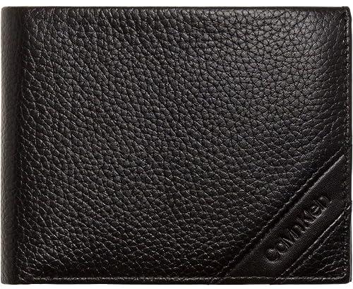 d07d889d1e Calvin Klein Pebble 10CC Coin Pass Black: Amazon.co.uk: Shoes & Bags