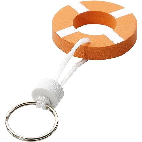 Bullet - Llavero con boya flotante (0.8 x 5.5 cm) (Naranja ...