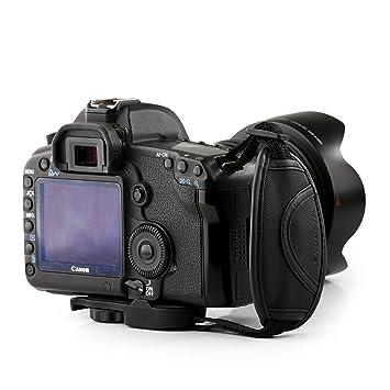 Micnova mq-hs3 Piel Agarre Correa para Canon EOS, Nikon, Sony ...