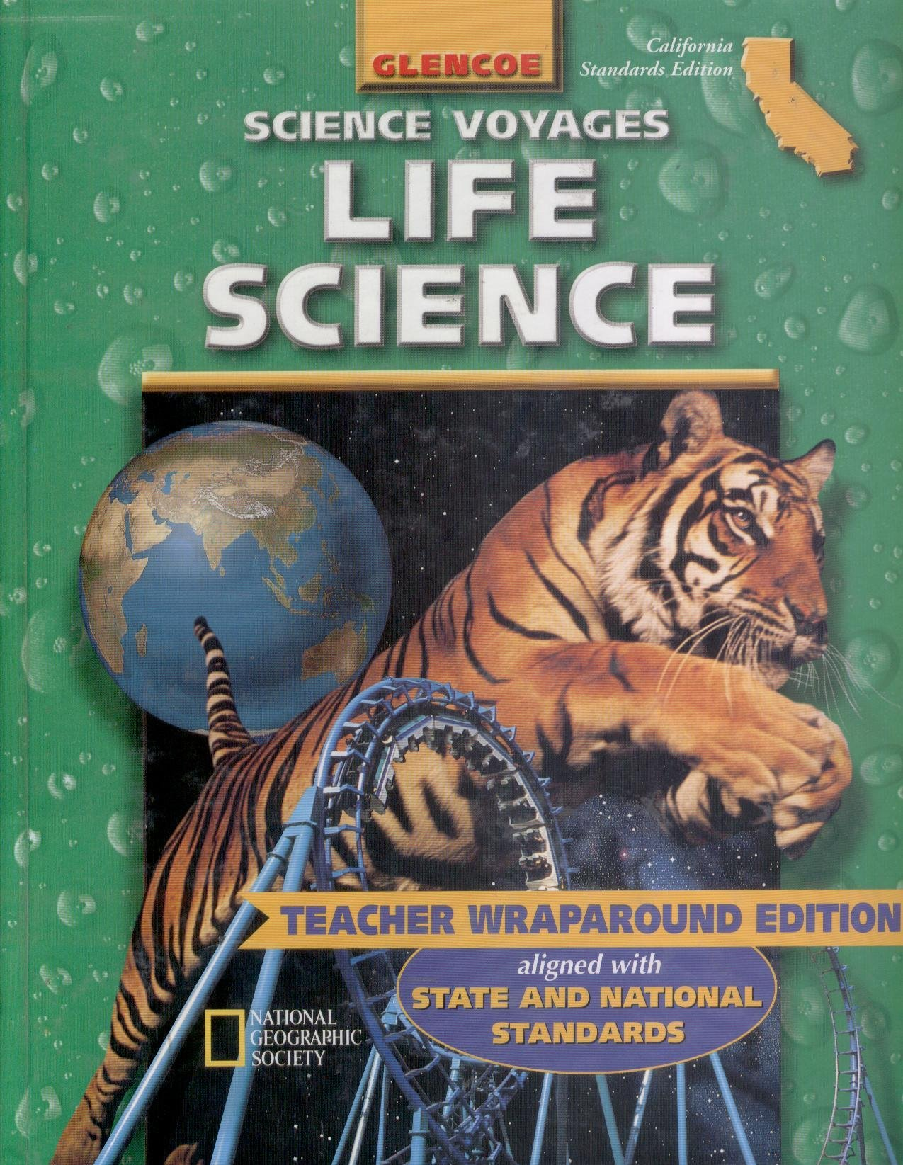 Worksheets Glencoe Life Science Worksheets glencoe mcgraw hill science voyages 7th grade life california edition teacher 2001 isbn 0078239907 9780078239908 a