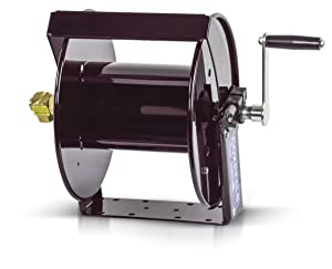 "Coxreels SM17-3-250 Swivel Mount Hand Crank Hose Reel: 3/8"" I.D., 250' hose capacity, less hose, 4000 PSI"