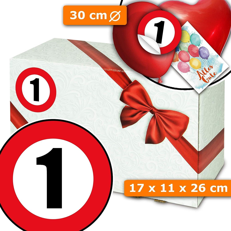 Jahrestag 1 Geschenk - Kartonschachtel - Geschenk Freundin