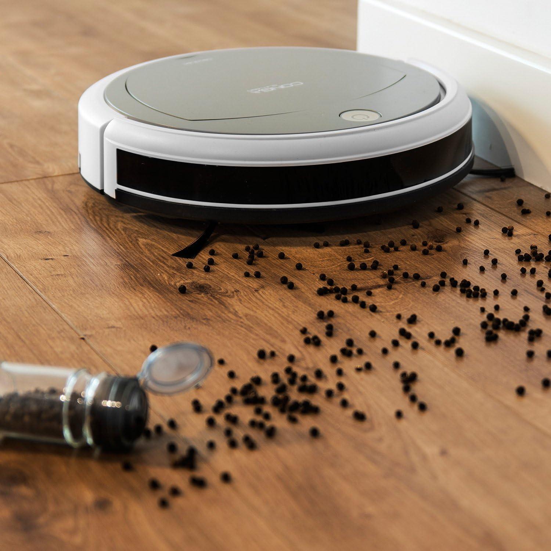 Cecotec Robot aspirador Conga Slim 890 Wet. 4 en 1: Barre, aspira, pasa la mopa y friega. ItechEvo. Programable. Pantalla LCD. 5 modos de limpieza. Gran potencia. Filtro HEPA. Batería litio 120min: Amazon.es: Hogar