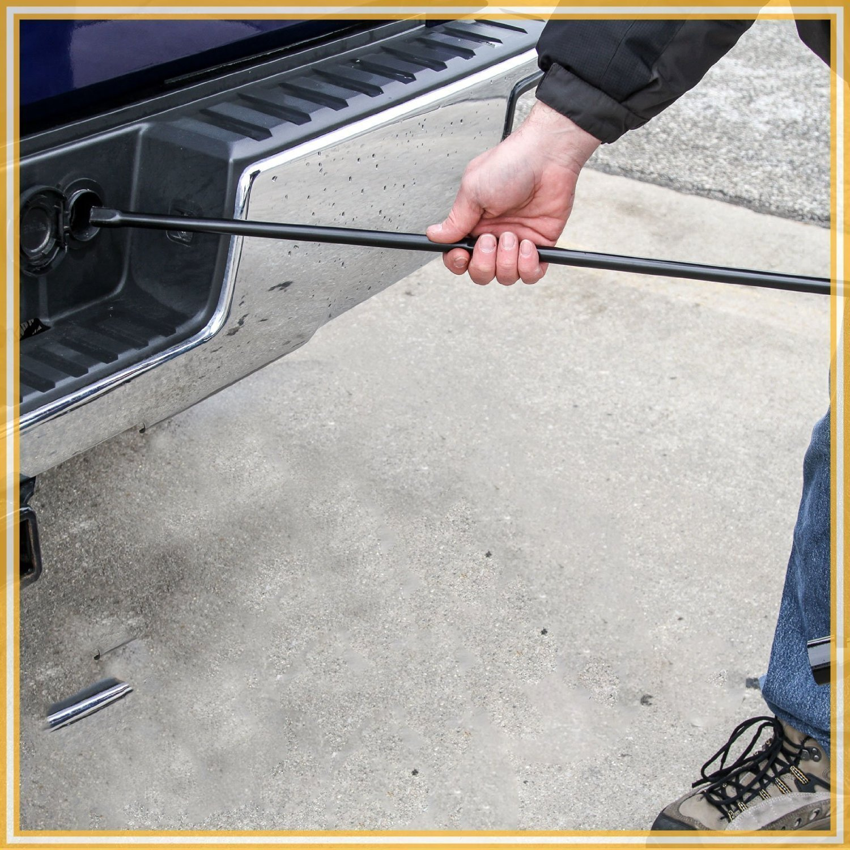Hindom Spare Tire Repair Tool Kit with Case for Chevy GMC Silverado Sierra Tahoe Yukon, US STOCK