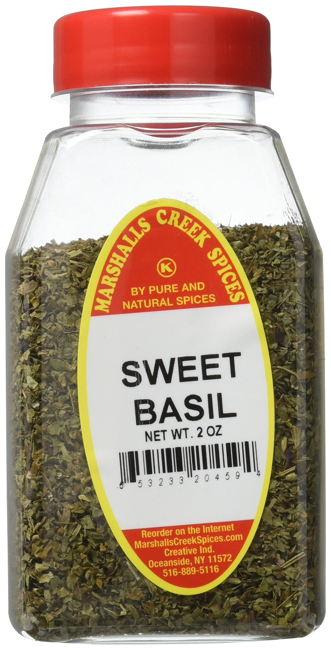 Marshalls Creek Kosher Spices BASIL SWEET, SWEET BASIL 2 oz