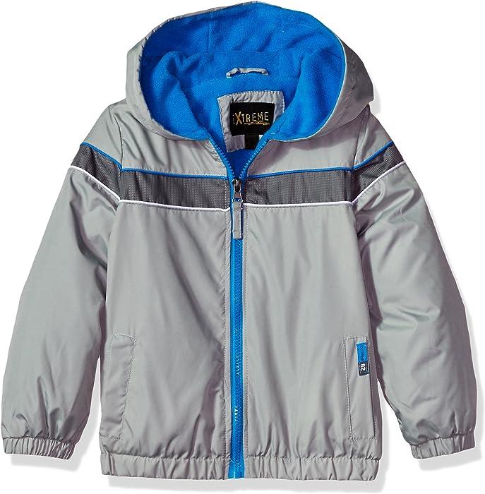 30efc66deaa6 Amazon.com  iXtreme Boys  Toddler Colorblock Jacket with Fleece ...