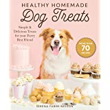 Healthy Homemade Dog Treats: More than 70 Simple & Delicious Treats for Your Furry Best Friend