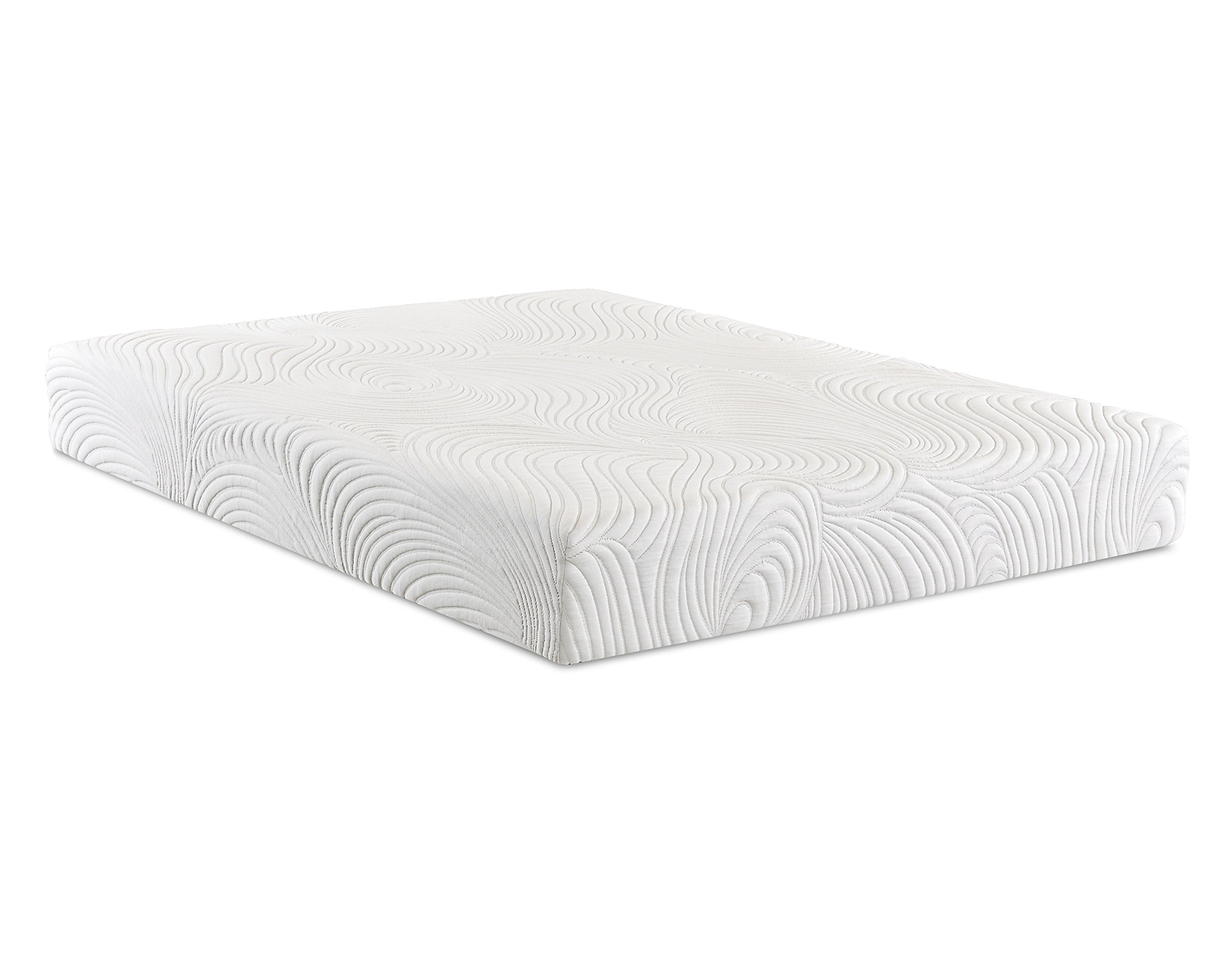 Klaussner Sierra 10'' Puregel Mattress, Full, White