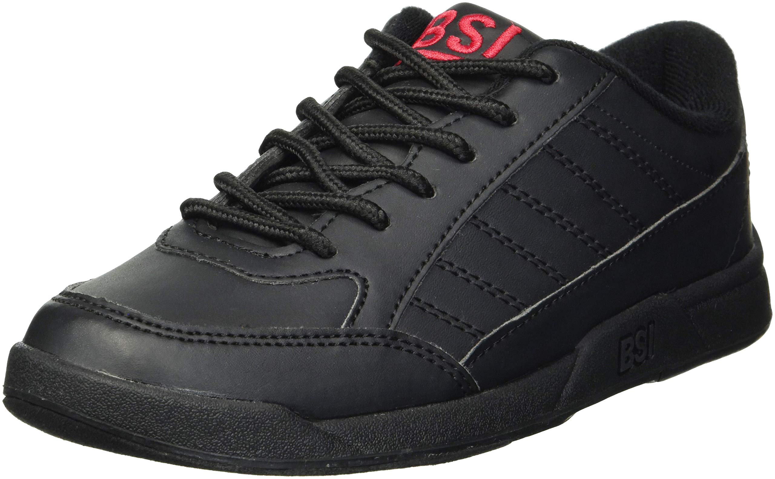 BSI Boy's Basic #533 Bowling Shoes, Black, Size 1.0