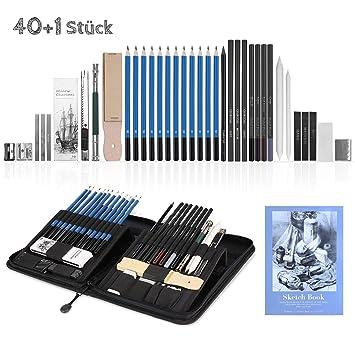 Ghb 41pcs Bleistifte Skizzierstifte Set Professional Skizzieren