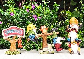 Amazon.com  Miniature FAIRY GARDEN Gnome Figurine , GAME OF