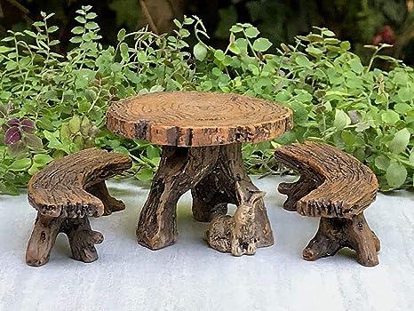 Pleasant Dekoration Miniature Dollhouse Fairy Garden Furniture Bralicious Painted Fabric Chair Ideas Braliciousco