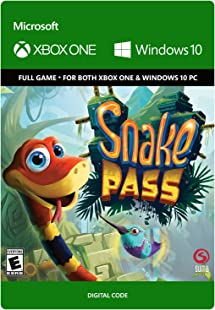 Snake Pass | Xbox One/Win 10 PC - Download Code: Amazon co