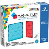 Magna Tiles Rectangles Expansion Set, The Original Magnetic Building Tiles for Creative Open-Ended Play, Educational Toys for