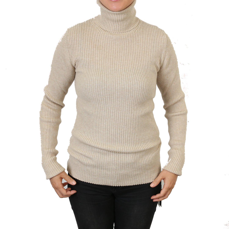 【Johnstons】ジョンストンズ Ladies 100% Cashmere Sweater Funnel Neck /タートルネック カシミア100%セーター【並行輸入品】 B077TLK4QP S|Natural Natural S