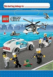 Amazoncom LEGO City Invitations Party Accessory Toys Games