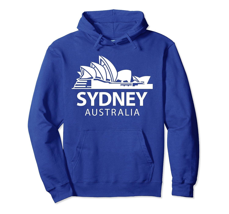 Sydney Opera House Australia Pullover Hoodie-AZP