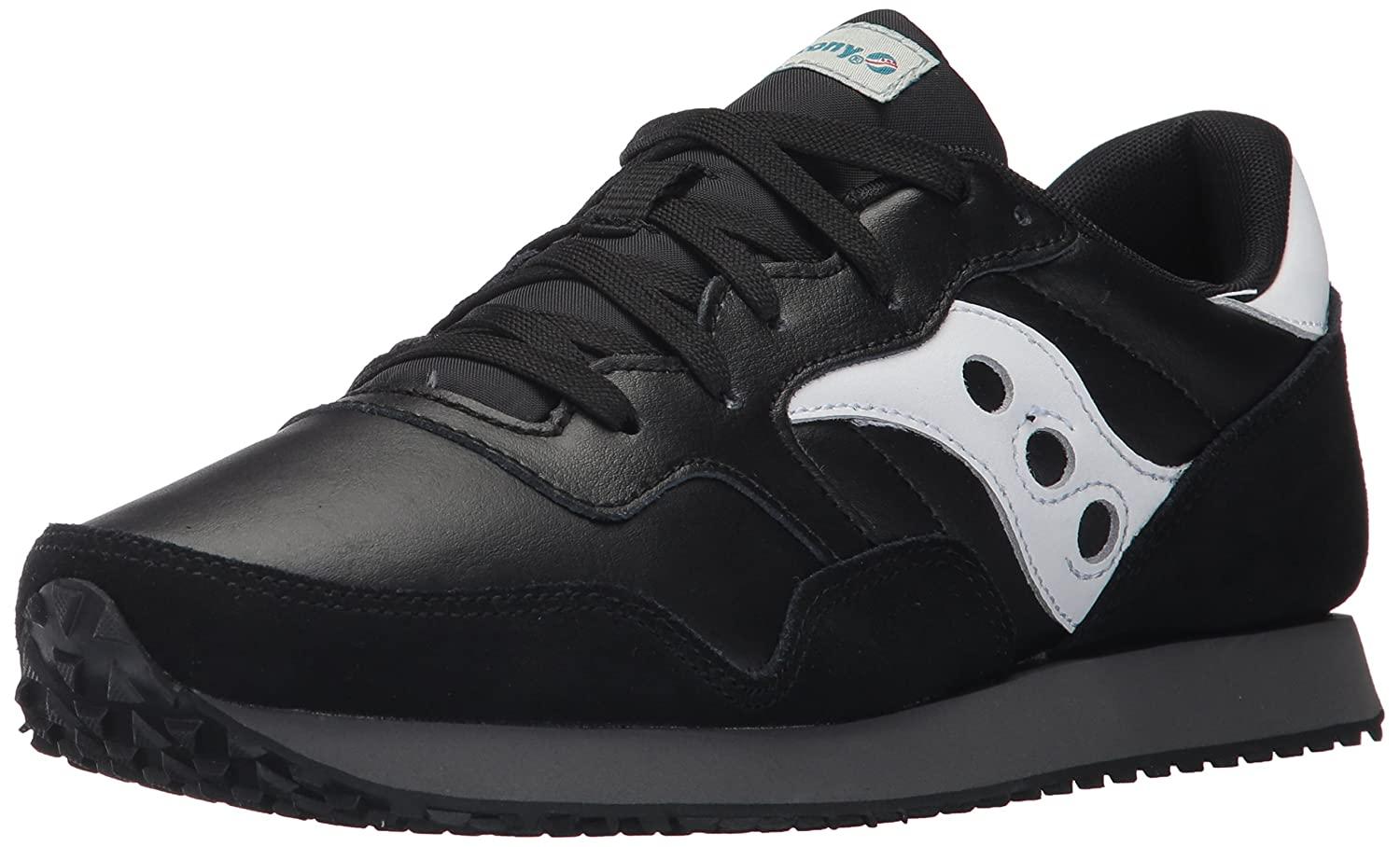 Saucony メンズ DXN Trainer CL Essential B01MZ2FG0W 14 D(M) US|ブラック/ホワイト ブラック/ホワイト 14 D(M) US
