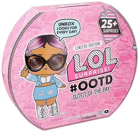 L.O.L. Surprise! 555742E7C Outfit of The Day Surprise Advent Calendar, Rosa