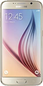 Samsung Galaxy S6 G920 32GB Unlocked GSM 4G LTE Octa-Core Smartphone, Gold Platinum