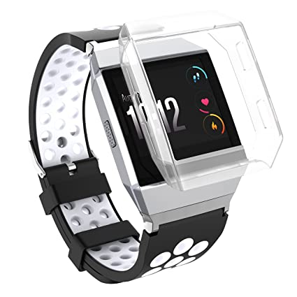 Fitbit Ionic Case, Replacement Accessory Protective Cover TPU Rugged Shock Proof Frame for Fitbit Ionic Smartwatch