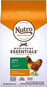 Nutro Wholesome Essentials Adult & Senior Dry Cat Food, Chicken