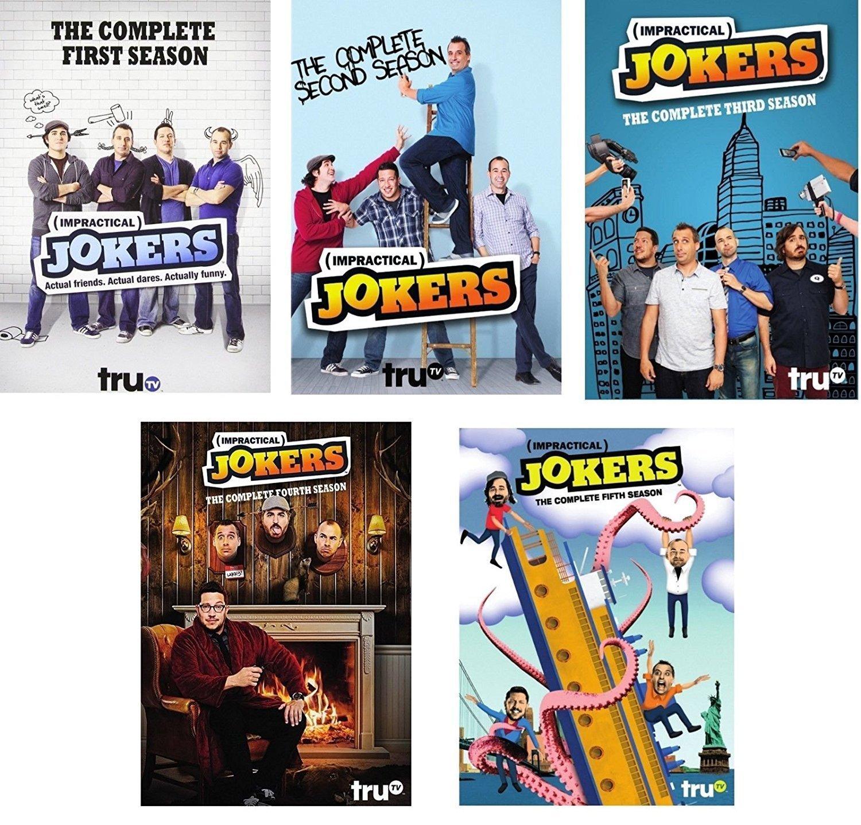 Studio1 Impractical Jokers: The Complete Series Seasons 1-5 DVD NEW 1 2 3 4 5