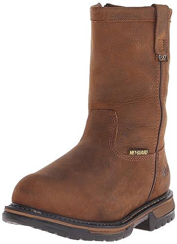 d6650c636ba Rocky Men's 10 Inch Ironclad Wellington Steel Toe Work Boot