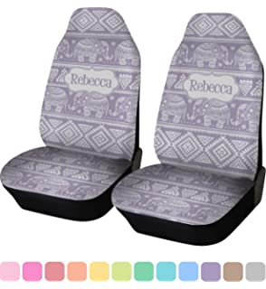 RNK Shops Baby Elephant Car Seat Covers Set Of Two Personalized
