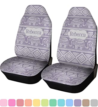 Baby Elephant Custom Car Seat Covers Set Of Two