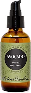 Edens Garden Avocado Carrier Oil (Best For Mixing With Essential Oils), 4 oz