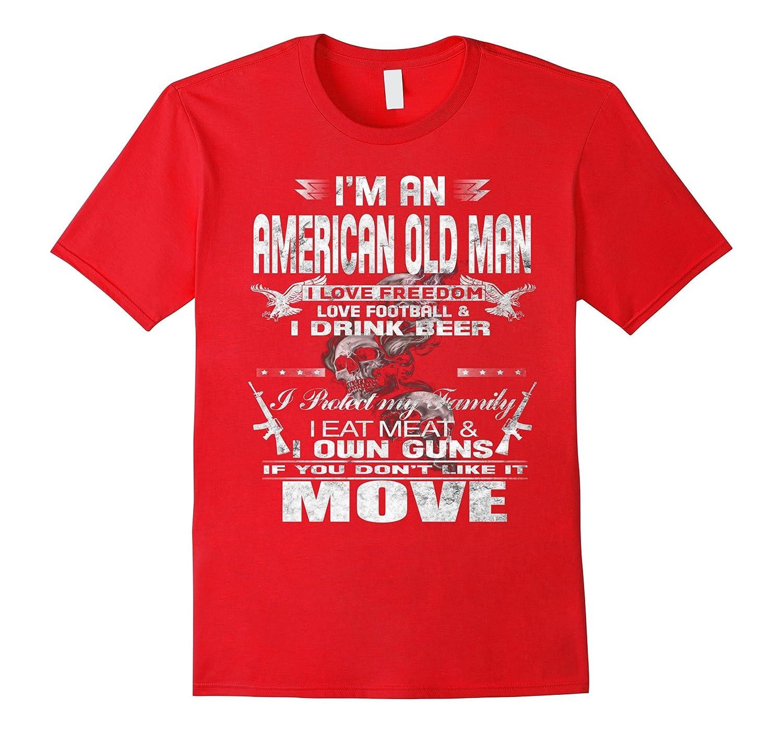 Im an American old man love football  own guns-Vaci
