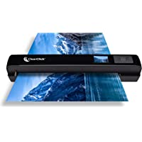 """ClearClick Portable Photo & Document Scanner - No Computer Required - Runs on AA Batteries or USB Power - 1.4"""" Instant…"""