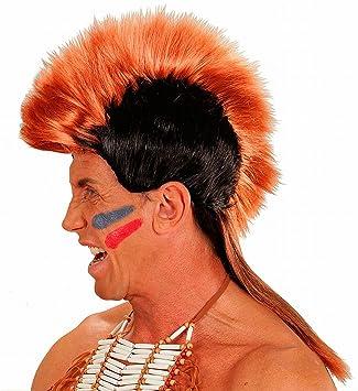 WIDMANN - Peluca para disfraz de adulto guerrero (6768)