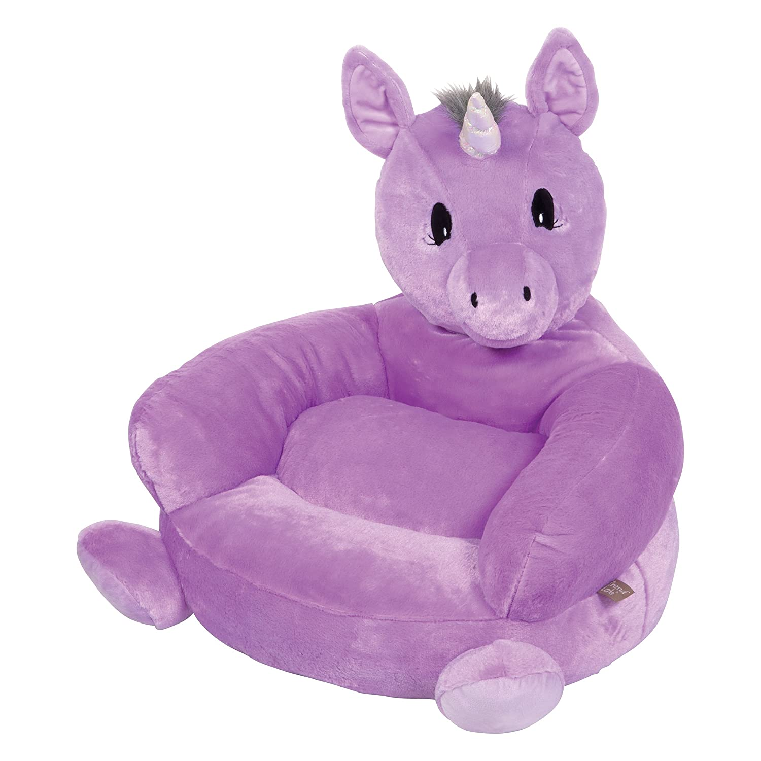 Trend Lab Children's Plush Chair, Unicorn