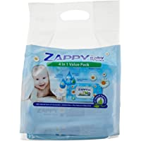 Zappy Baby 80s Wipes Value Pack, 80 ct (Pack of 24)