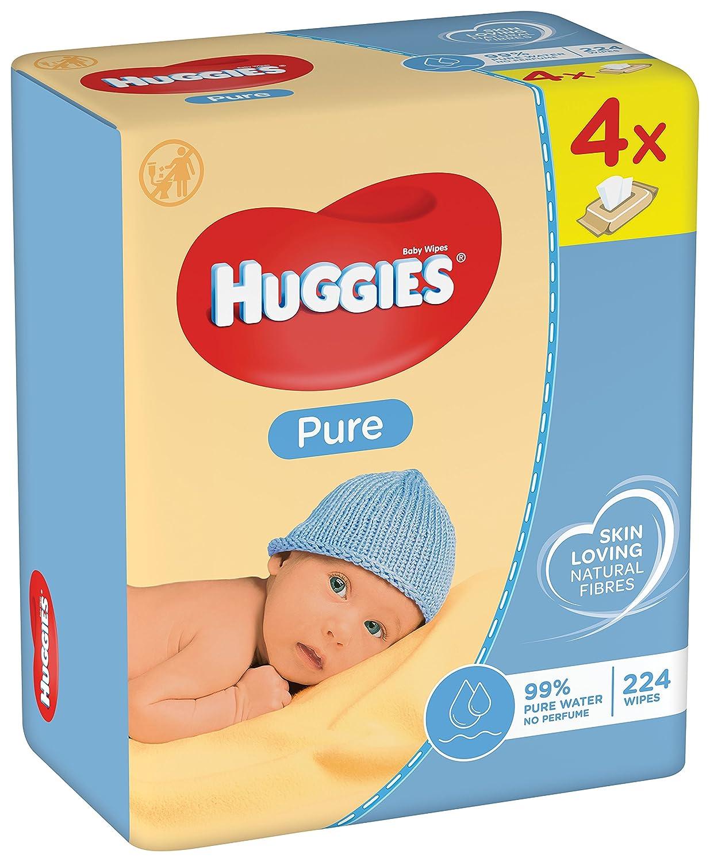 Huggies Pure feuchte Tü cher, 2er Pack (2 x 256 Tü cher) 23954